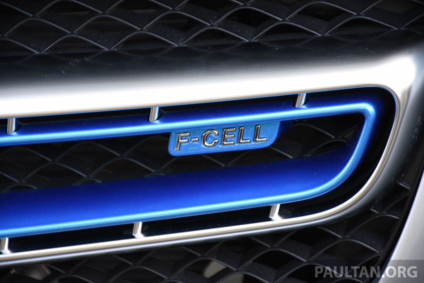 Mercedes-Benz GLC F-Cell revealed in pre-production form at Frankfurt show – two electric energy sources Image #710444