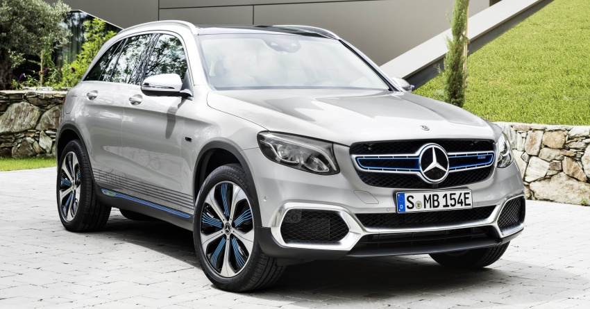 Mercedes-Benz GLC F-Cell revealed in pre-production form at Frankfurt show – two electric energy sources Image #710367