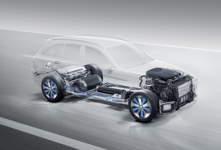 Mercedes-Benz GLC F-Cell revealed in pre-production form at Frankfurt show – two electric energy sources Image #710390