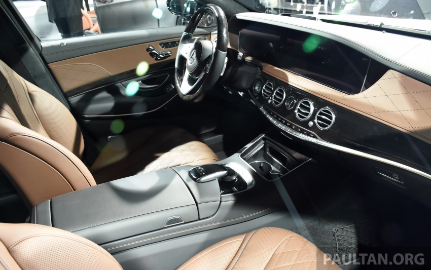 Mercedes-Benz S560e debuts in Frankfurt – up to 50 km of electric driving range, 0-100 km/h in 5 seconds Image #709751