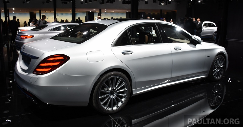 Mercedes-Benz S560e debuts in Frankfurt – up to 50 km of electric driving range, 0-100 km/h in 5 seconds Image #709741