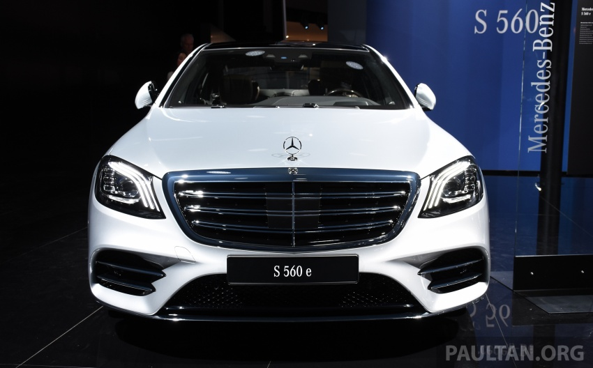 Mercedes-Benz S560e debuts in Frankfurt – up to 50 km of electric driving range, 0-100 km/h in 5 seconds Image #709742