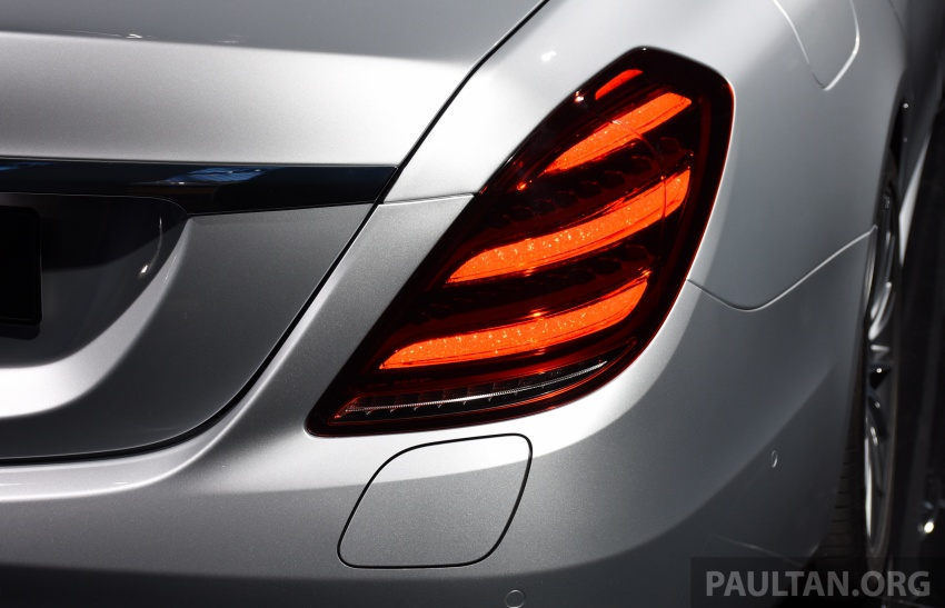 Mercedes-Benz S560e debuts in Frankfurt – up to 50 km of electric driving range, 0-100 km/h in 5 seconds Image #709745