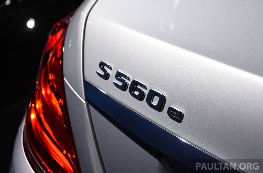 Mercedes-Benz S560e debuts in Frankfurt – up to 50 km of electric driving range, 0-100 km/h in 5 seconds Image #709746