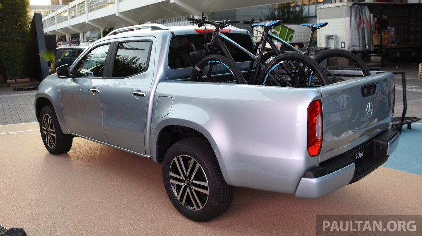 GALLERY: Mercedes-Benz X-Class X220d and X250d Image #714128