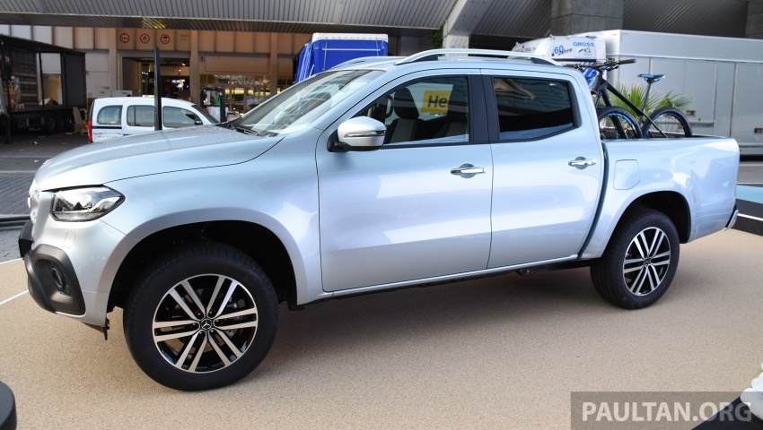 GALLERY: Mercedes-Benz X-Class X220d and X250d Image #714134