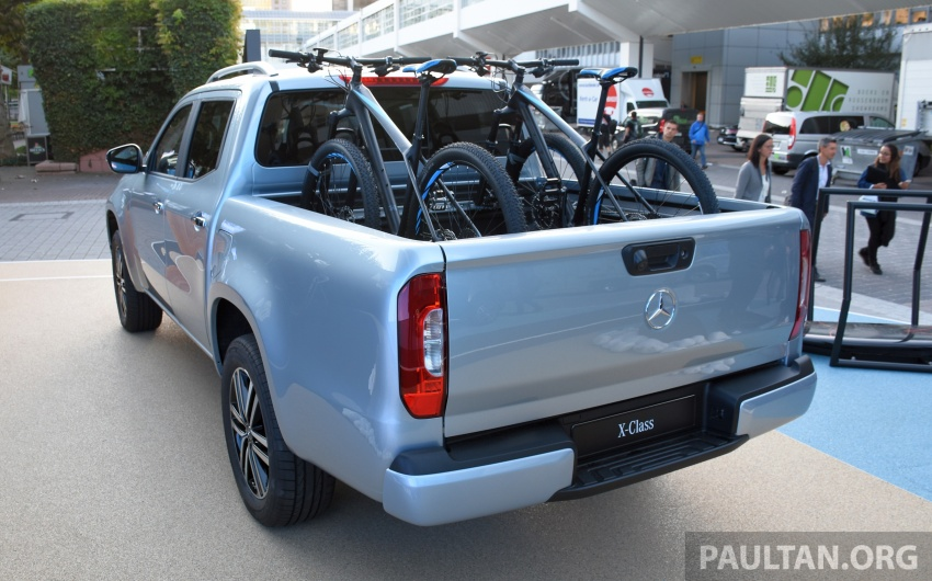 GALLERY: Mercedes-Benz X-Class X220d and X250d Image #714135