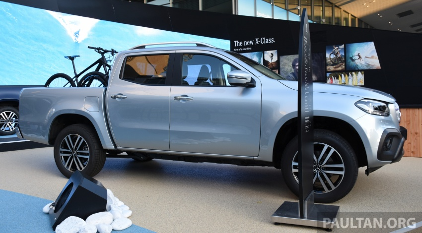 GALLERY: Mercedes-Benz X-Class X220d and X250d Image #714137