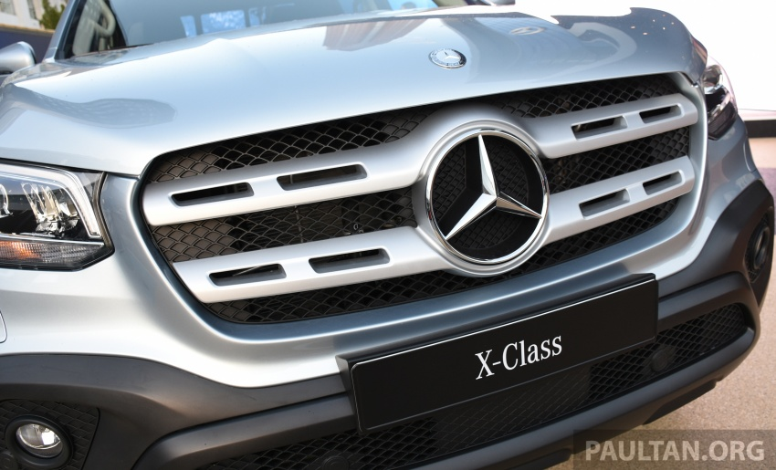 GALLERY: Mercedes-Benz X-Class X220d and X250d Image #714138