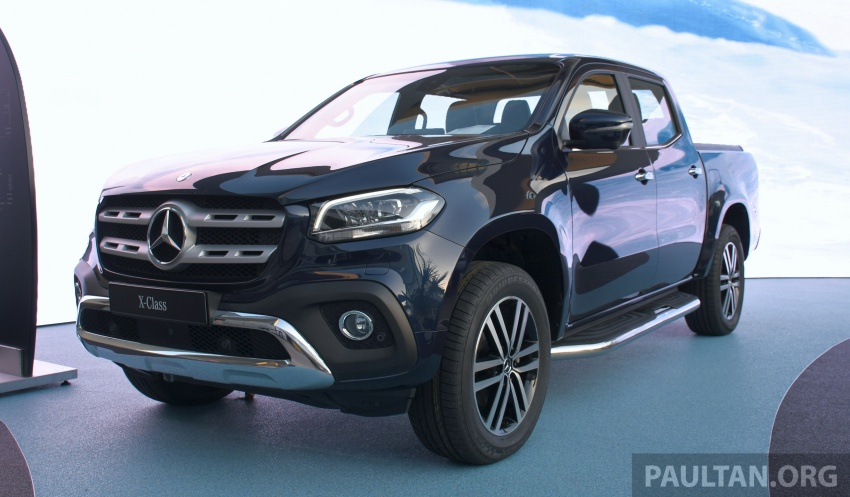 GALLERY: Mercedes-Benz X-Class X220d and X250d Image #714152