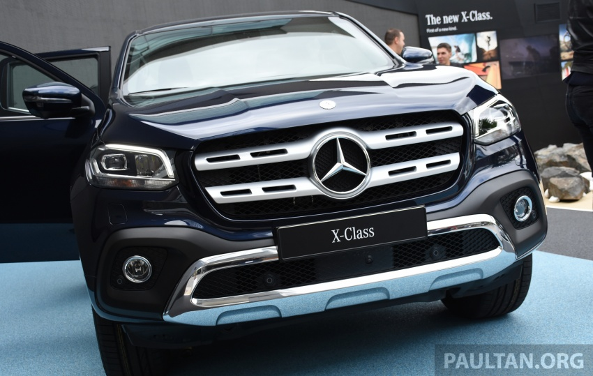 GALLERY: Mercedes-Benz X-Class X220d and X250d Image #714155