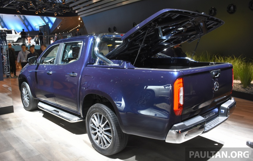 GALLERY: Mercedes-Benz X-Class X220d and X250d Image #714156