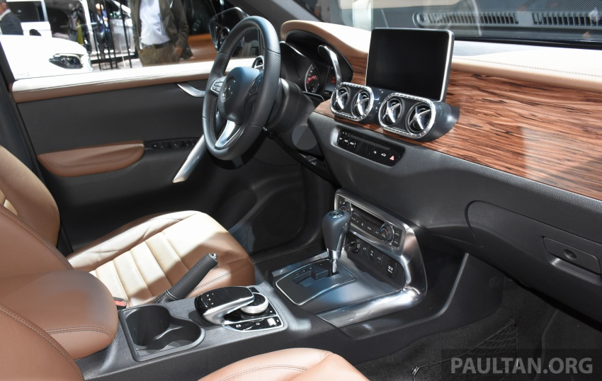 GALLERY: Mercedes-Benz X-Class X220d and X250d Image #714125