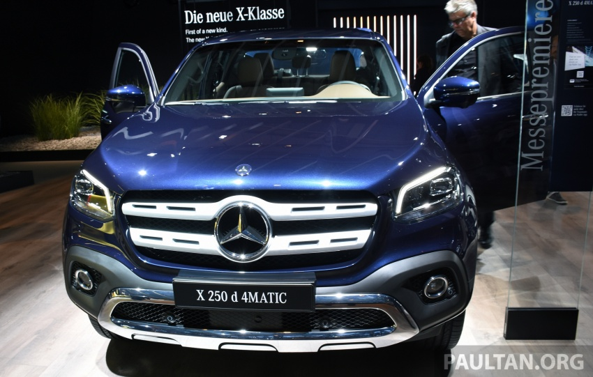 GALLERY: Mercedes-Benz X-Class X220d and X250d Image #714168