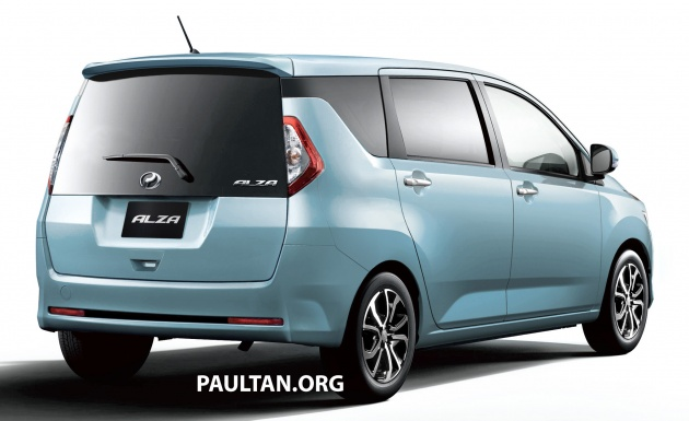 Alza Baru 2018 >> New Perodua Alza Rendered On Daihatsu Mira E S Body
