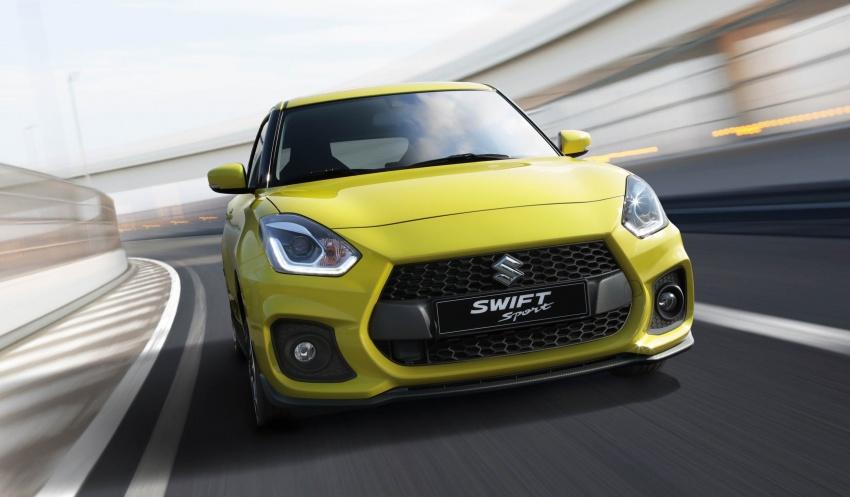 New Suzuki Swift Sport officially revealed in Frankfurt – 1.4L turbo engine, six-speed manual, only 970 kg Image #710010