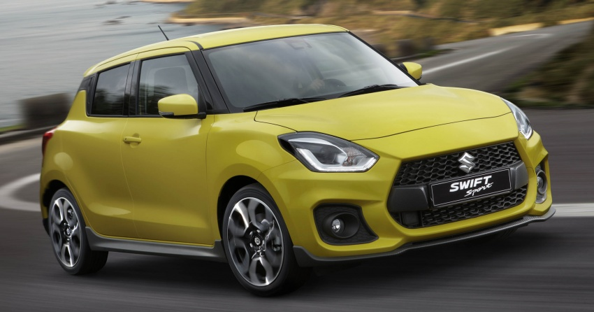 New Suzuki Swift Sport officially revealed in Frankfurt – 1.4L turbo engine, six-speed manual, only 970 kg Image #710006
