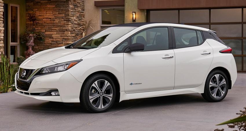 Nissan Leaf 2018 punya lebih teknologi dan bergaya Image #706396