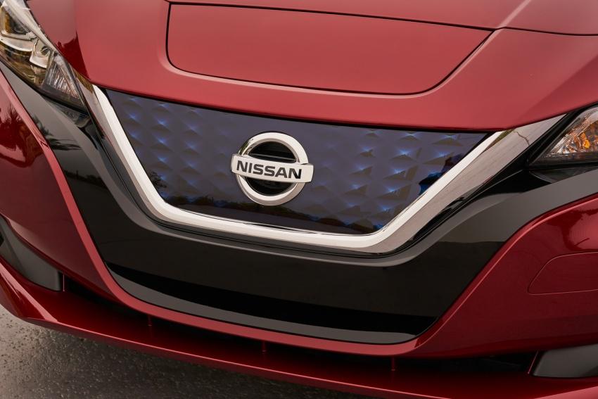 Nissan Leaf 2018 punya lebih teknologi dan bergaya Image #706400