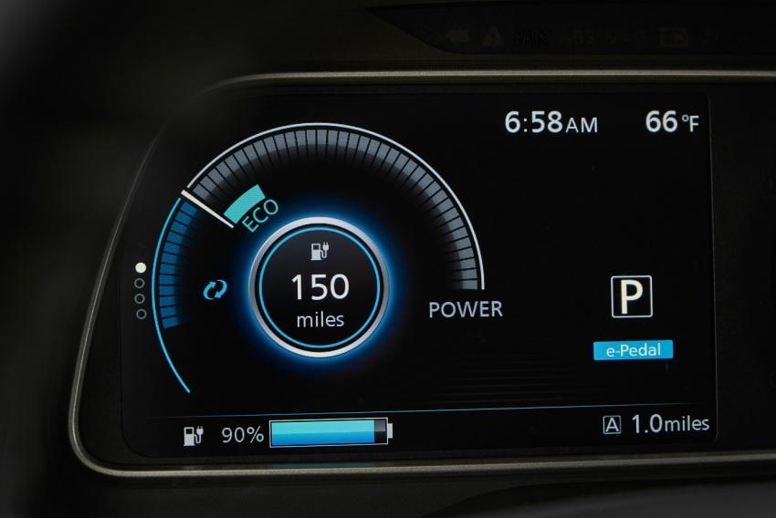 Nissan Leaf 2018 punya lebih teknologi dan bergaya Image #706401