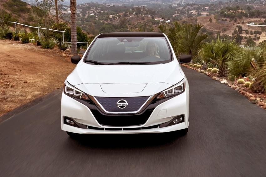 Nissan Leaf 2018 punya lebih teknologi dan bergaya Image #706403