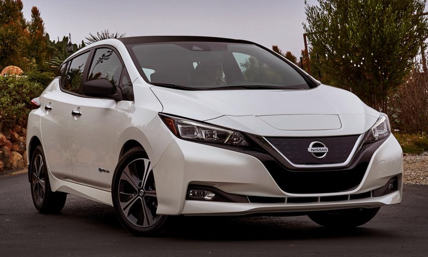Nissan Leaf 2018 punya lebih teknologi dan bergaya Image #706406