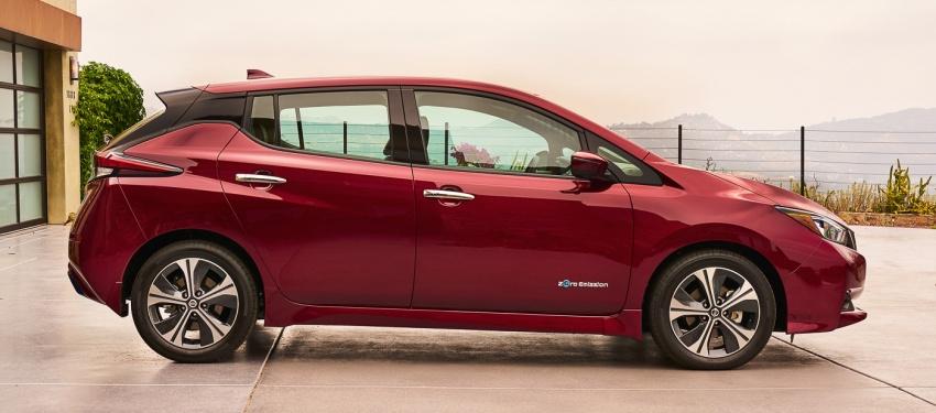 Nissan Leaf 2018 punya lebih teknologi dan bergaya Image #706409