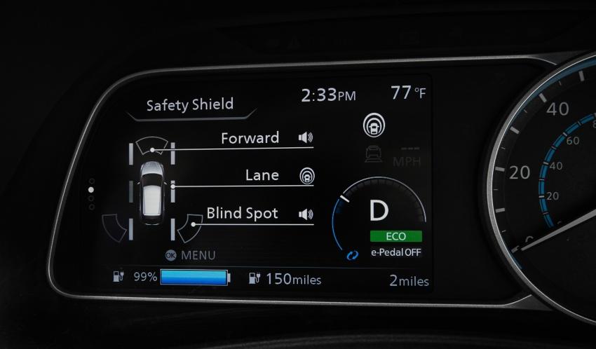 Nissan Leaf 2018 punya lebih teknologi dan bergaya Image #706386