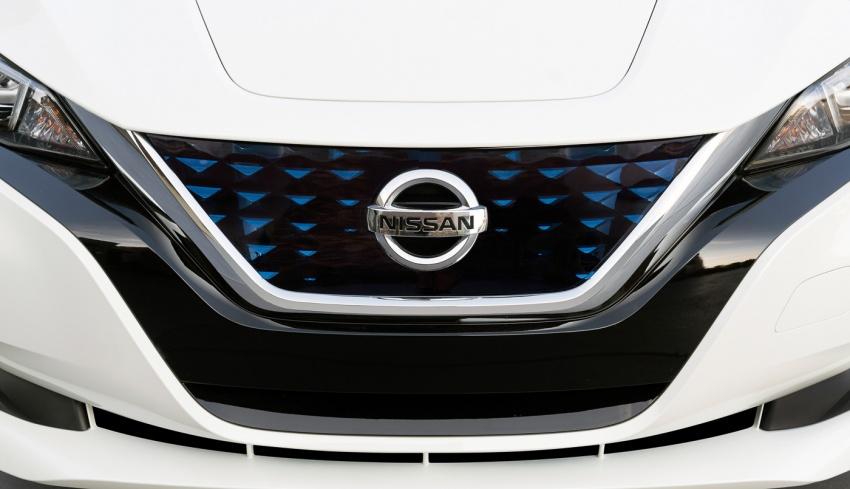 Nissan Leaf 2018 punya lebih teknologi dan bergaya Image #706414