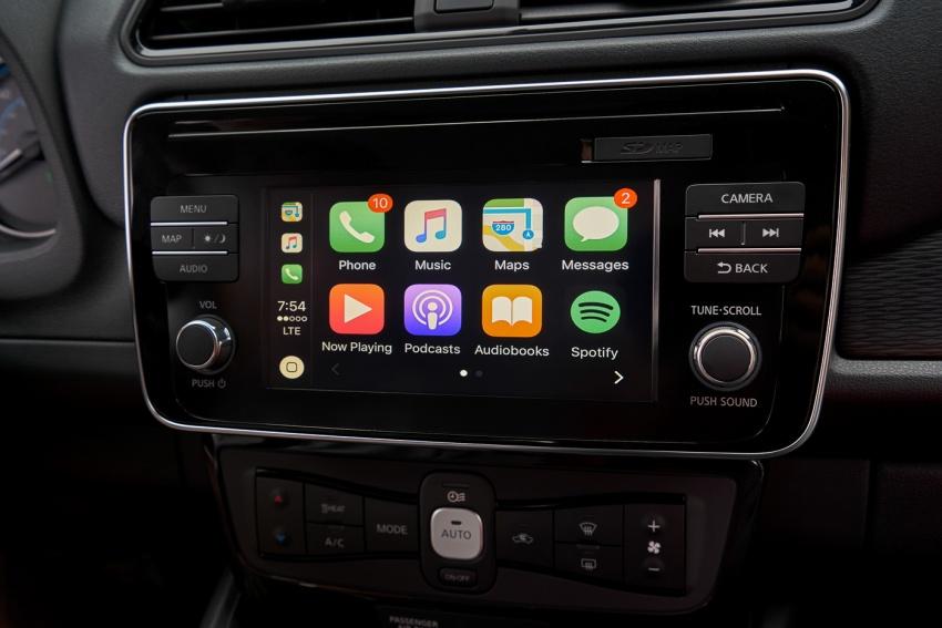 Nissan Leaf 2018 punya lebih teknologi dan bergaya Image #706415