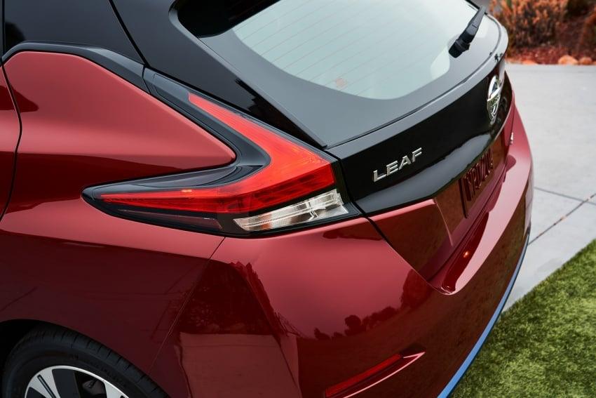 Nissan Leaf 2018 punya lebih teknologi dan bergaya Image #706419