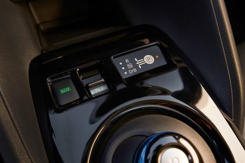 Nissan Leaf 2018 punya lebih teknologi dan bergaya Image #706392