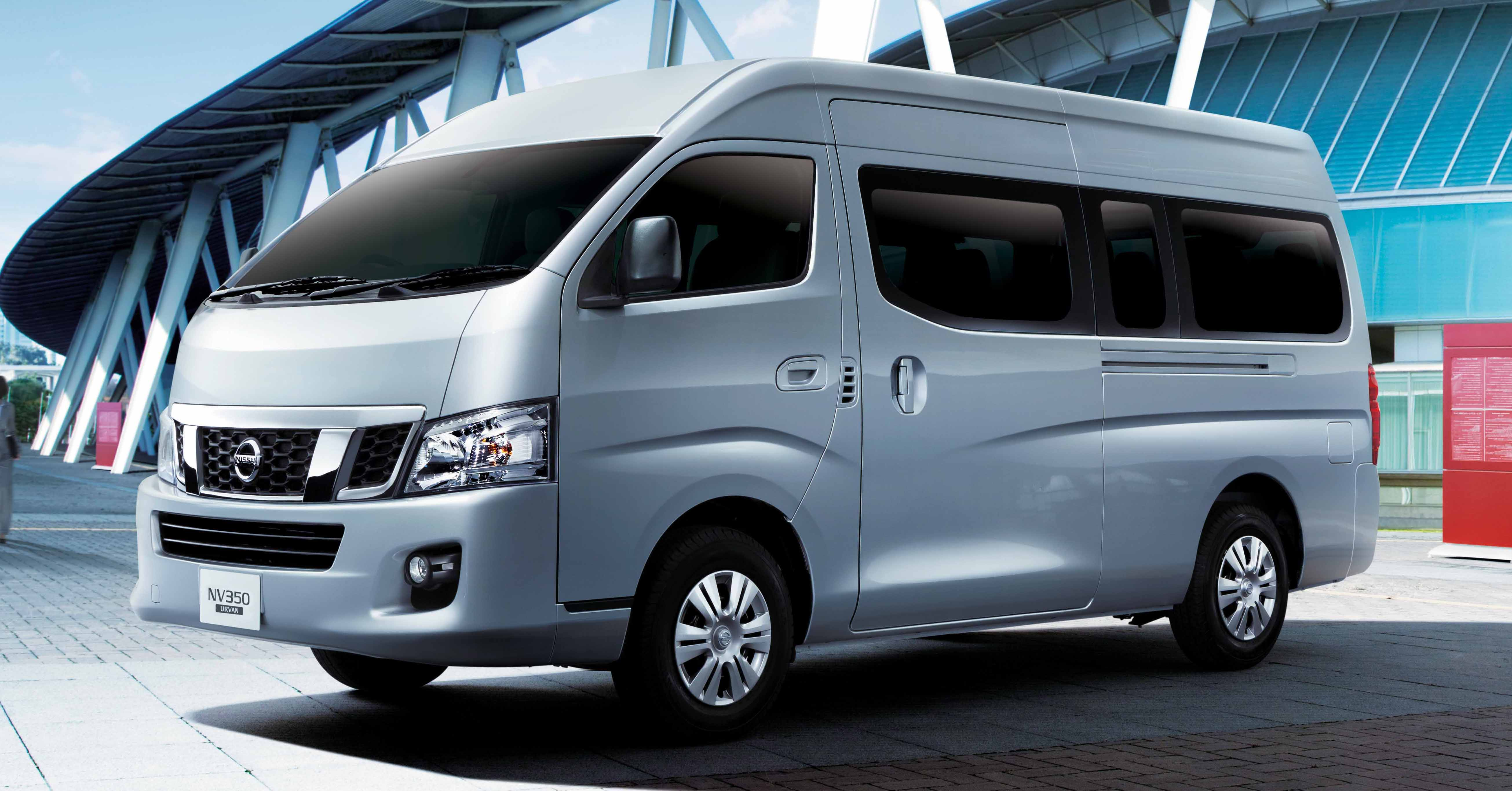 Nissan NV350 Urvan updated with new safety features
