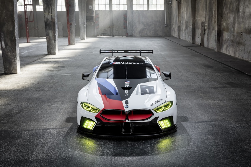 BMW M8 GTE race car previews production model Image #710188