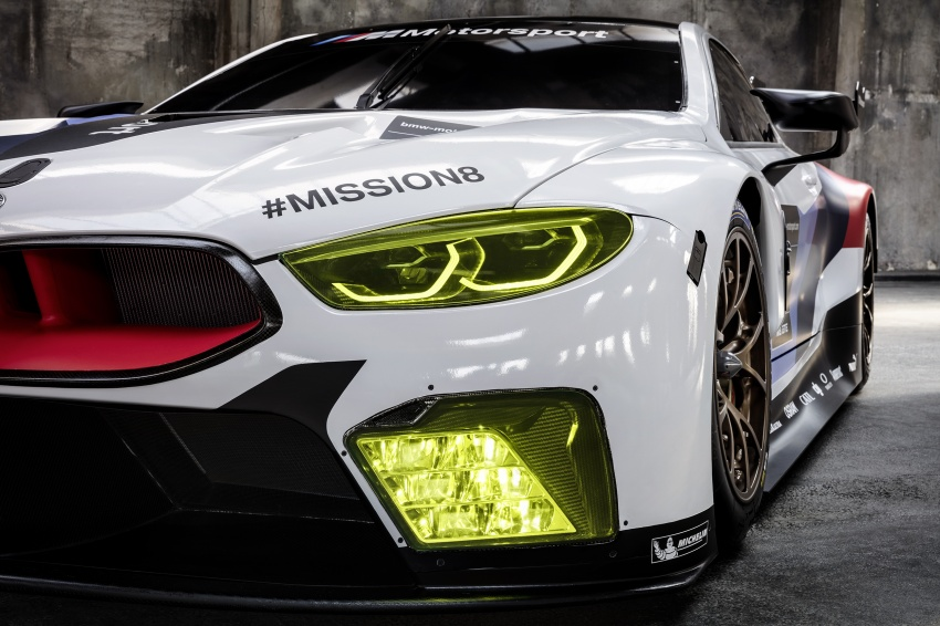BMW M8 GTE race car previews production model Image #710189