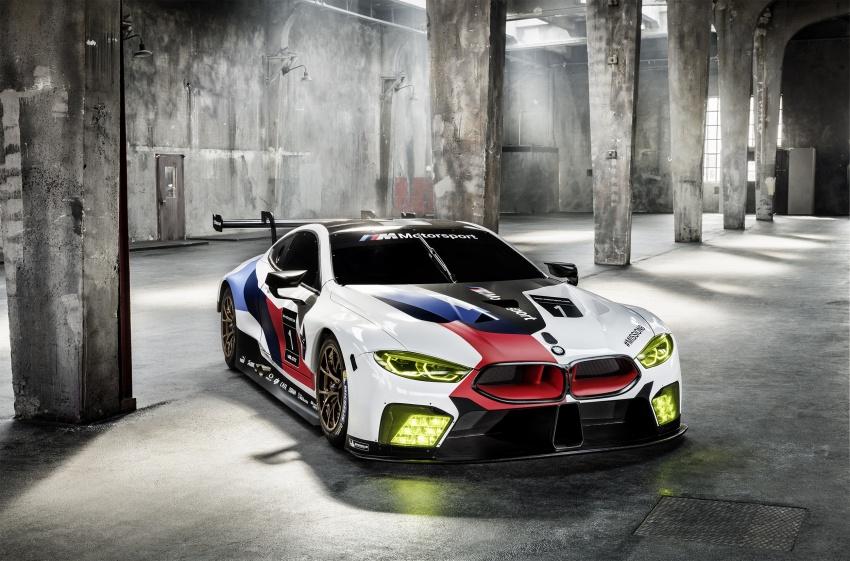 BMW M8 GTE race car previews production model Image #710190