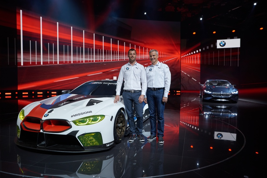 BMW M8 GTE race car previews production model Image #710201