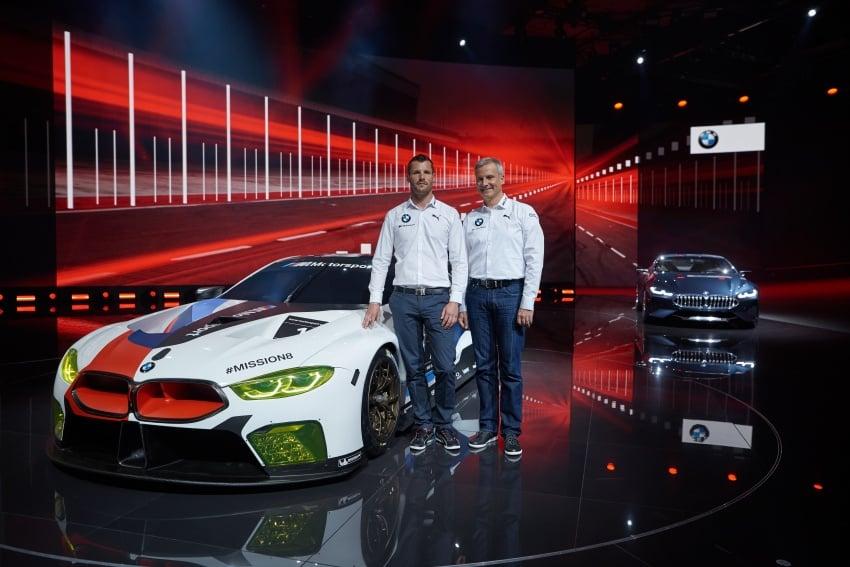 BMW M8 GTE race car previews production model Image #710201