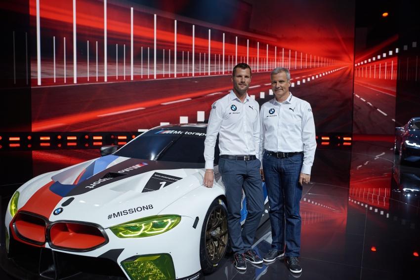 BMW M8 GTE race car previews production model Image #710203