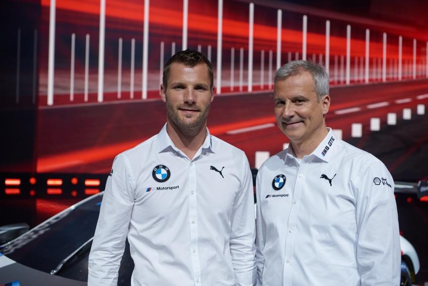 BMW M8 GTE race car previews production model Image #710204