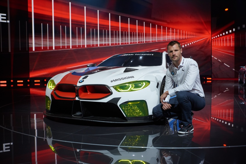 BMW M8 GTE race car previews production model Image #710205