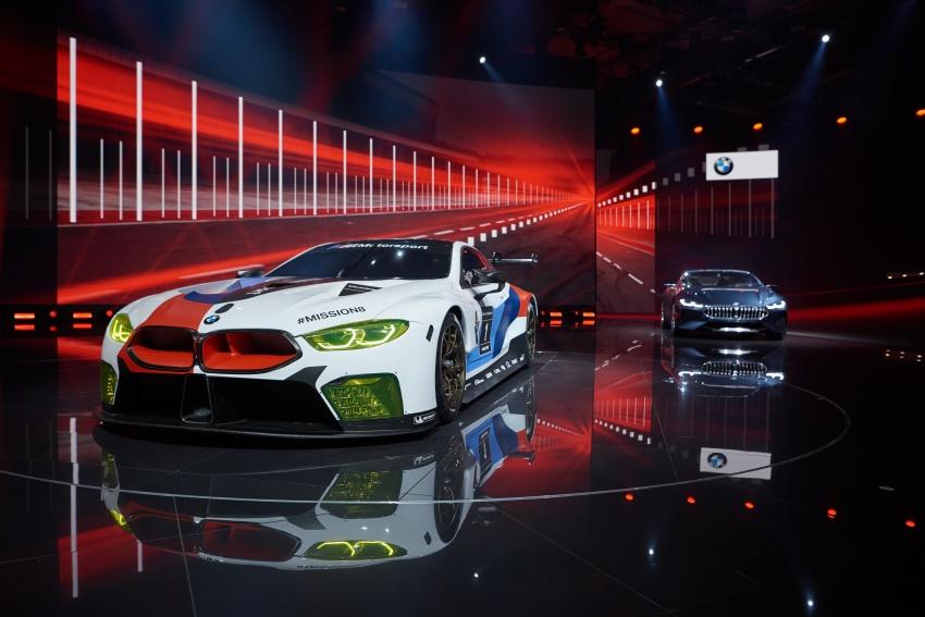 BMW M8 GTE race car previews production model Image #710207