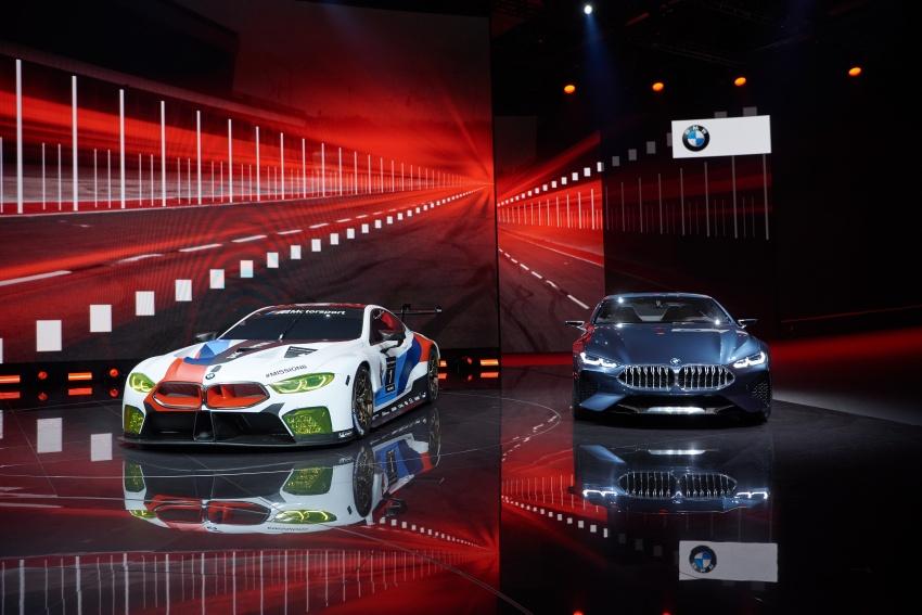 BMW M8 GTE race car previews production model Image #710208