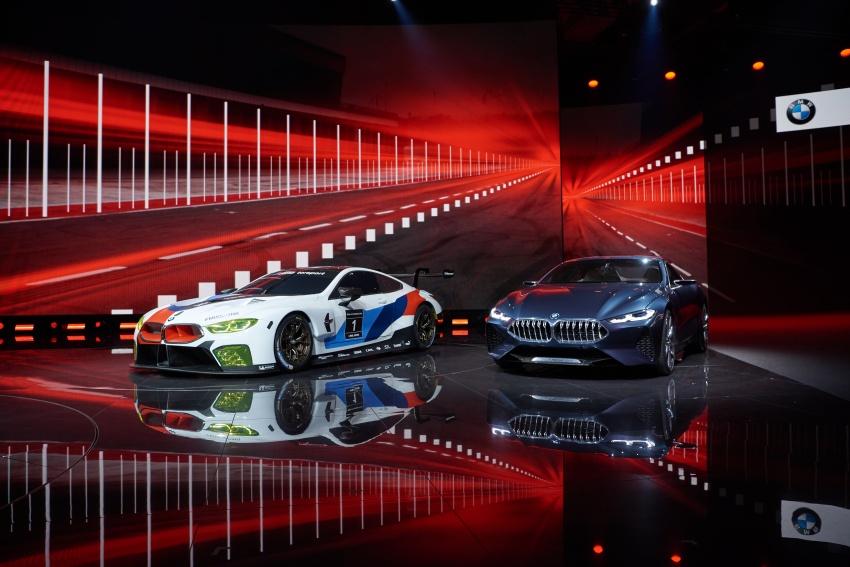 BMW M8 GTE race car previews production model Image #710212