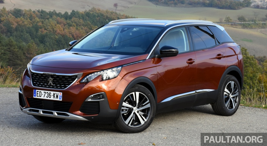 DRIVEN: Peugeot 3008 in Italy – plenty of savoir-faire Image #708649