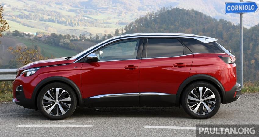 DRIVEN: Peugeot 3008 in Italy – plenty of savoir-faire Image #708655