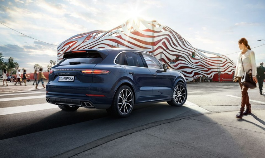 2018 Porsche Cayenne Turbo launched in Frankfurt Image #710299