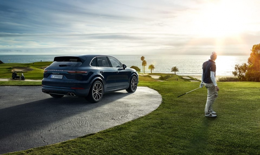 2018 Porsche Cayenne Turbo launched in Frankfurt Image #710308