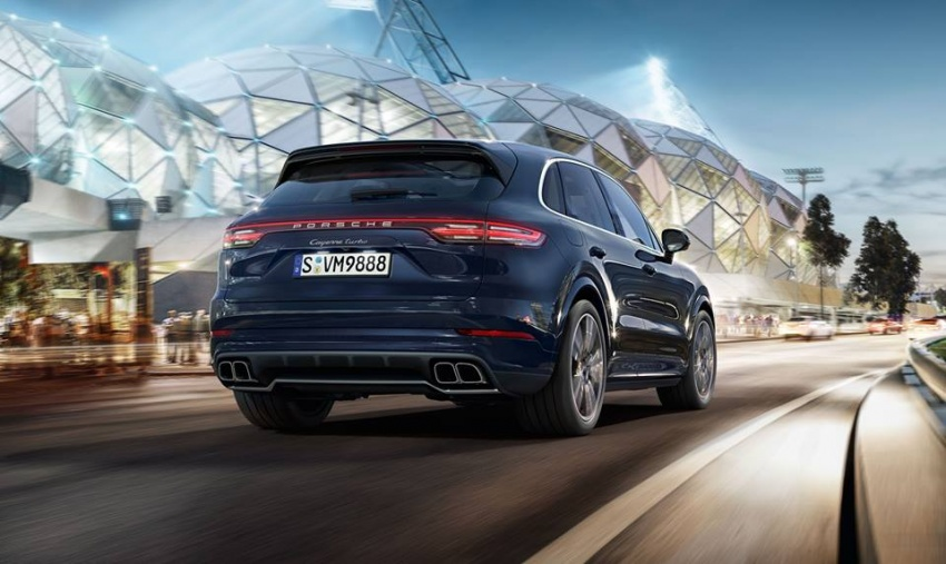 2018 Porsche Cayenne Turbo launched in Frankfurt Image #710309