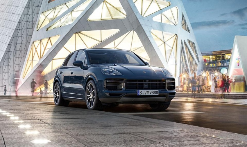 2018 Porsche Cayenne Turbo launched in Frankfurt Image #710310